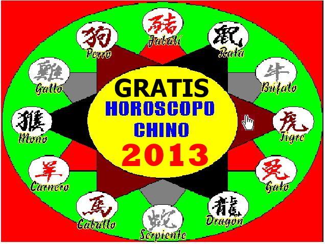 imagen del HOROSCOPO CHINO.